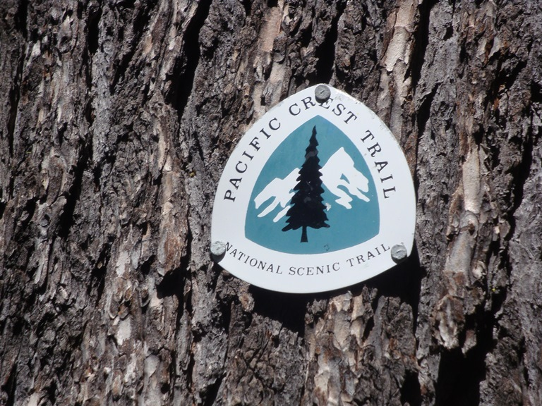 Pacific Crest Trail Sign - ©  JT flickr user