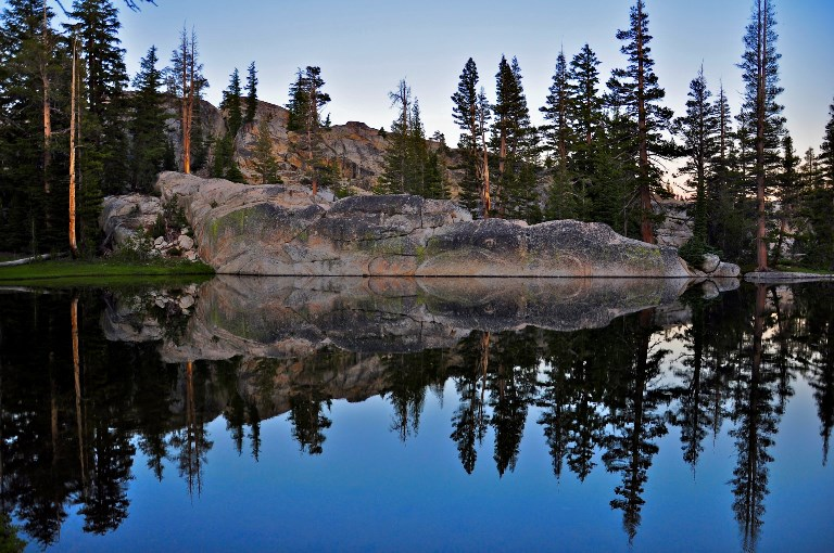 Pond near Miller Lake, Pacific Crest Trail, Yosemite National Park, CA. - ©  steve dunnleavy flickr user