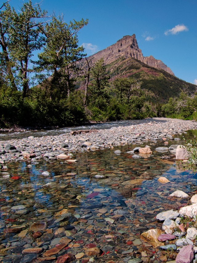 Clear Rockey Mountain Creek - ©  James Wheeler flickr user