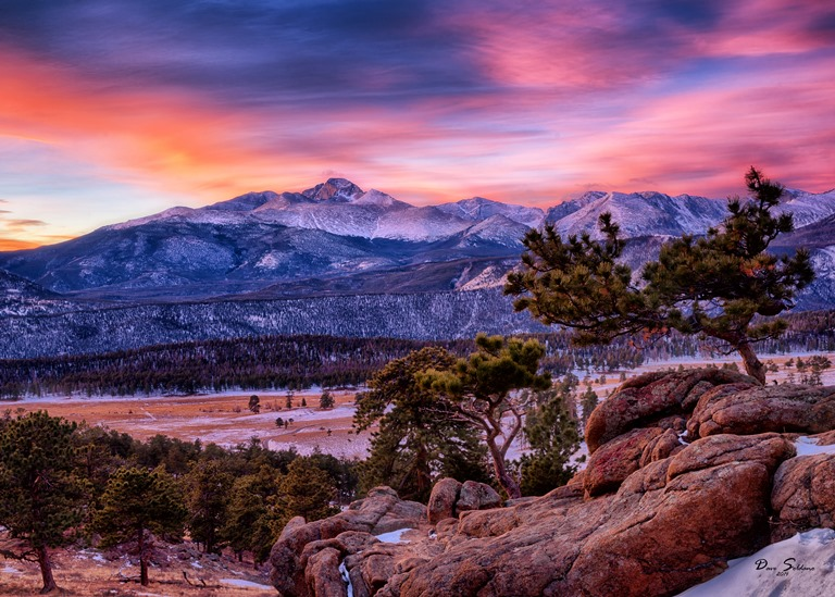 Surreal Sunrise at Rocky Mountain National Park - ©  Dave Soldano flickr user