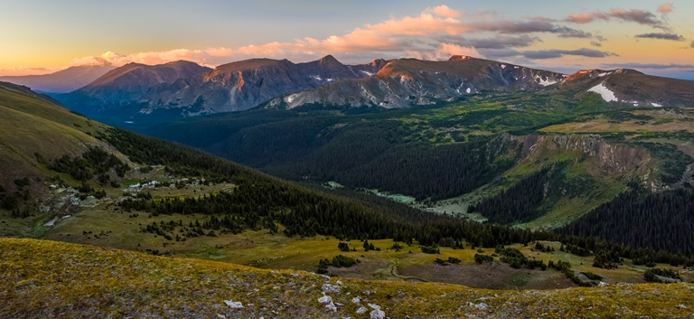 View of Rocky Mountain National Park - ©  Andrew E. Russell flickr user