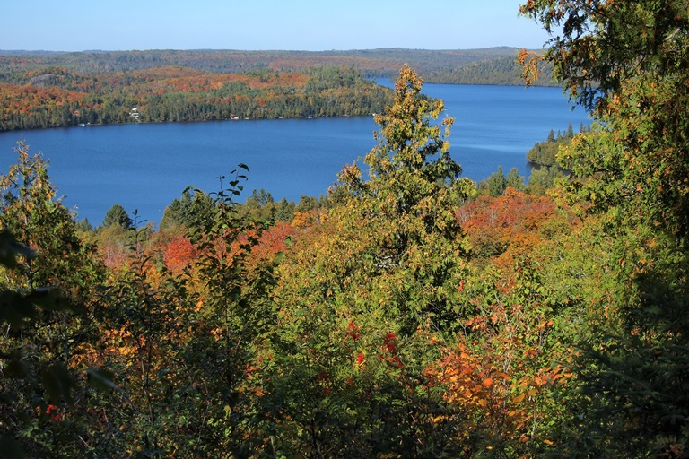 Superior Hiking Trail : Caribou Lake from Superior Hiking Trail  - © phil flickr user
