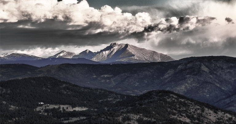 Longs Peak Colorado - ©  Max and Dee Bernt flickr user