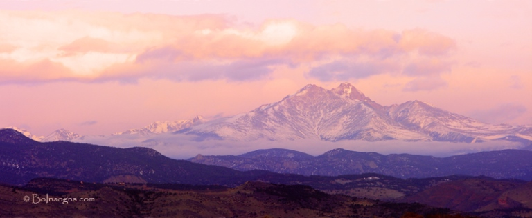 Longs Peak and Mt. Meeker Panorama   - © TheLightningMan.com flickr user