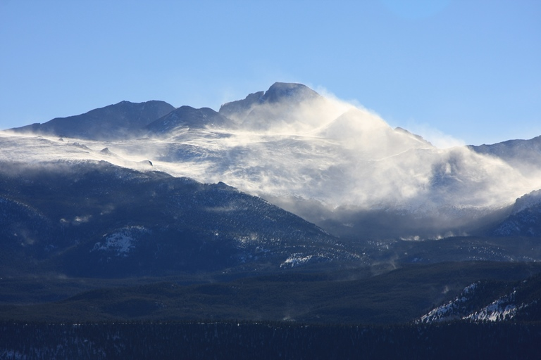 Longs Peak - ©  spacebahr flickr user