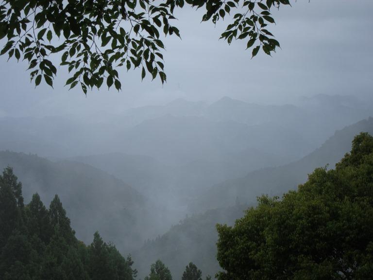 Japan Kansai: Kii Peninsula, Nakahechi Trail , Classic mists , Walkopedia
