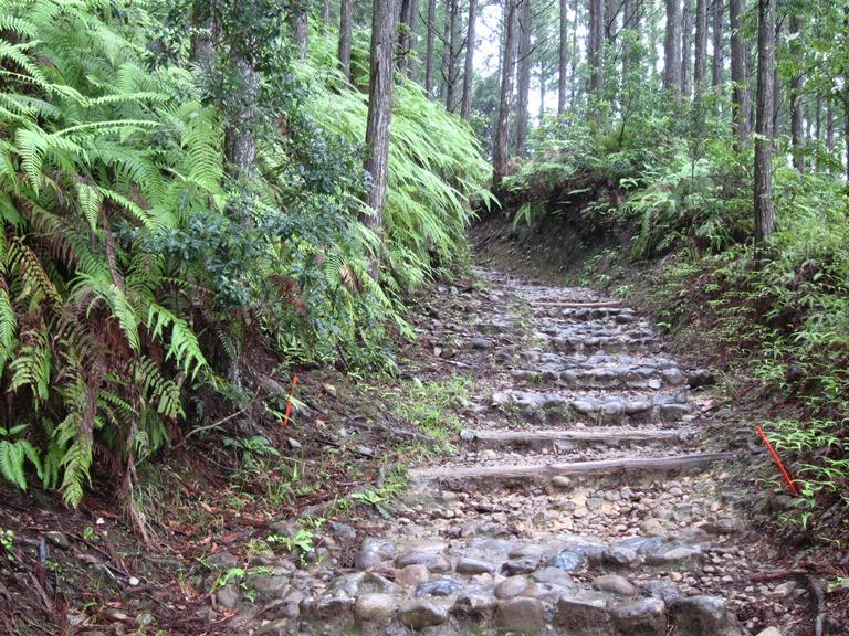 Japan Kansai: Kii Peninsula, Nakahechi Trail , Fine old trail , Walkopedia