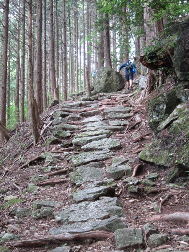 Japan Kansai: Kii Peninsula, Nakahechi Trail , Ancient path , Walkopedia