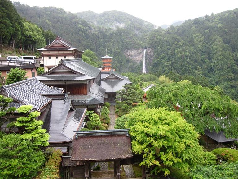 Japan Kansai: Kii Peninsula, Nakahechi Trail , Nachi waterfall, Walkopedia