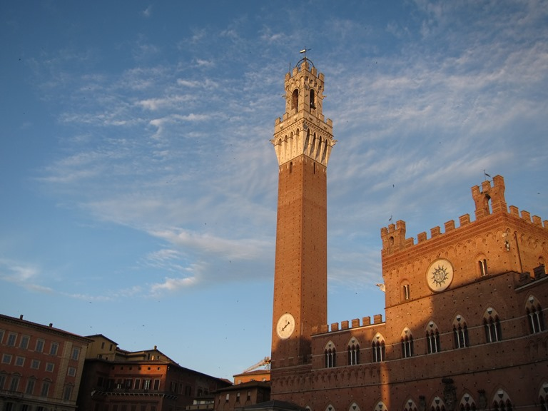 Via Francigena; San Gimignano to Montalcino: Palazzo Pubblico, Siena  - © William Mackesy
