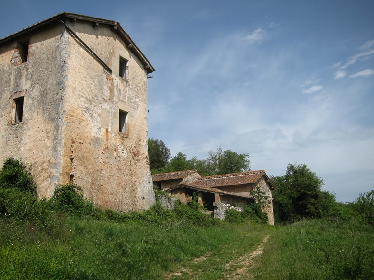 Via Francigena; San Gimignano to Montalcino: Tuscan farmstead  - © William Mackesy