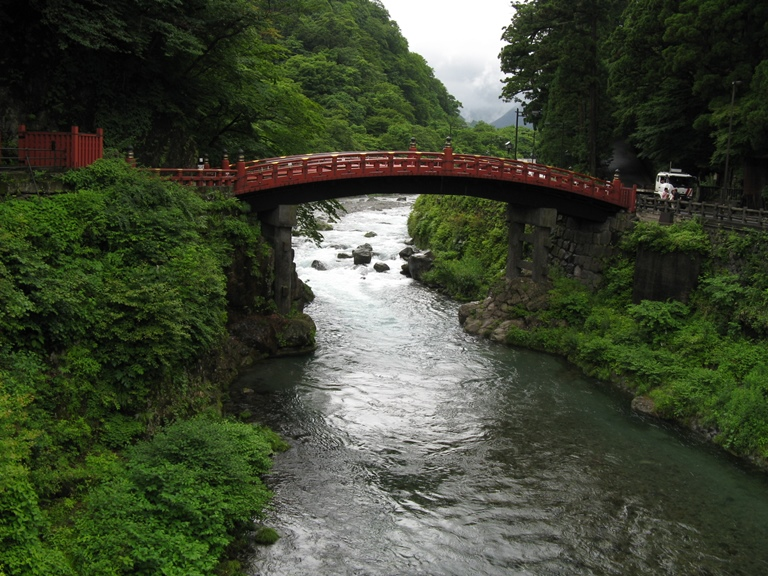 Nikko Area: Nikko bridge  - © SpirosK photography flickr user