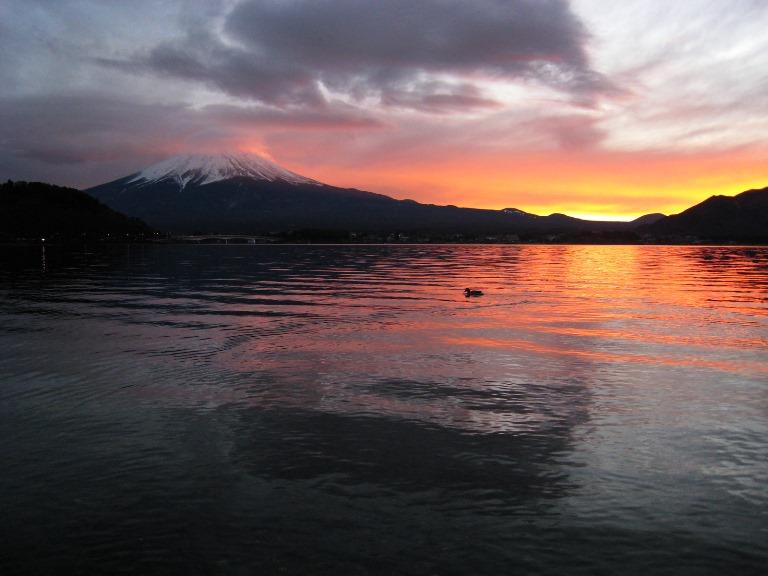 Japan Tokyo Region, Fuji-san (Mount Fuji) Area, Mount. Fuji in sunset , Walkopedia