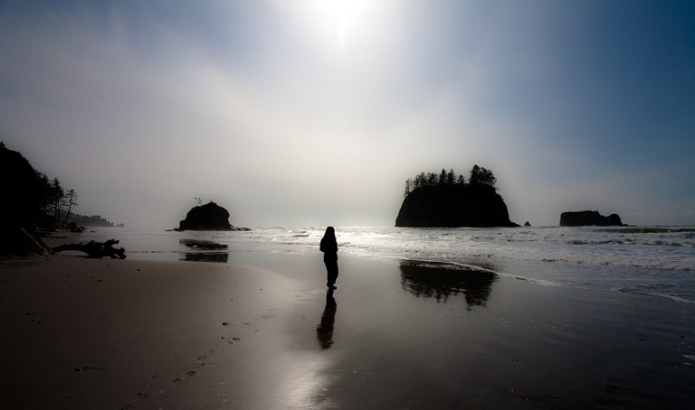 Second Beach, Olympic National Park  - © Esther Lee flickr user ...