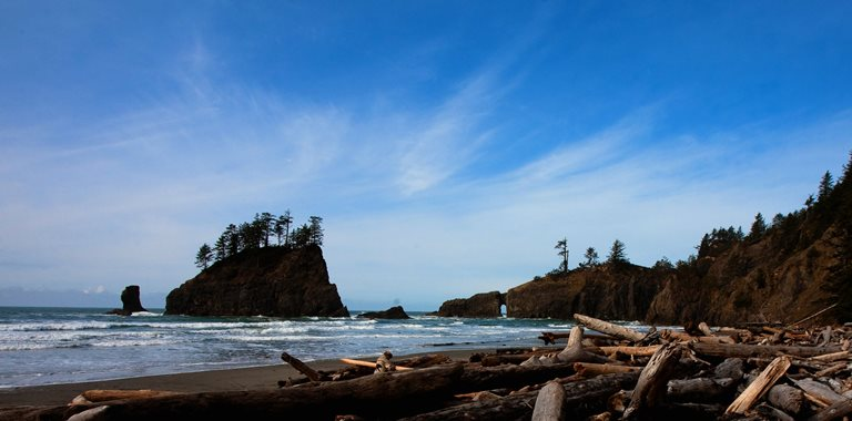 USA North-west/Olympic NP, Second Beach, Second Beach, Olympic National Park-71 , Walkopedia