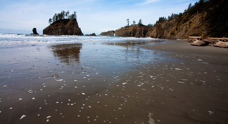 USA North-west/Olympic NP, Second Beach, Second Beach, Olympic National Park , Walkopedia