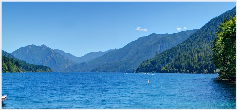 Lake Crescent Area: Lake Crescent  - © Scott Smithson flickr user