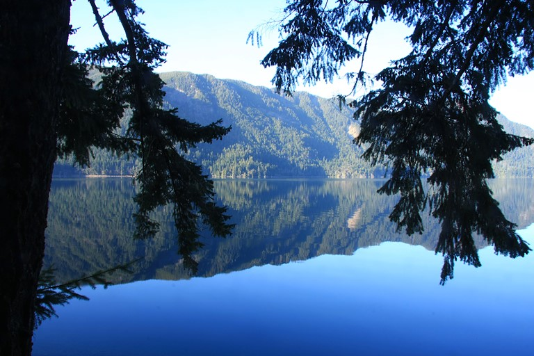 Lake Crescent Area: Lake Crescent, Washington  - © Richard Saxon flickr user