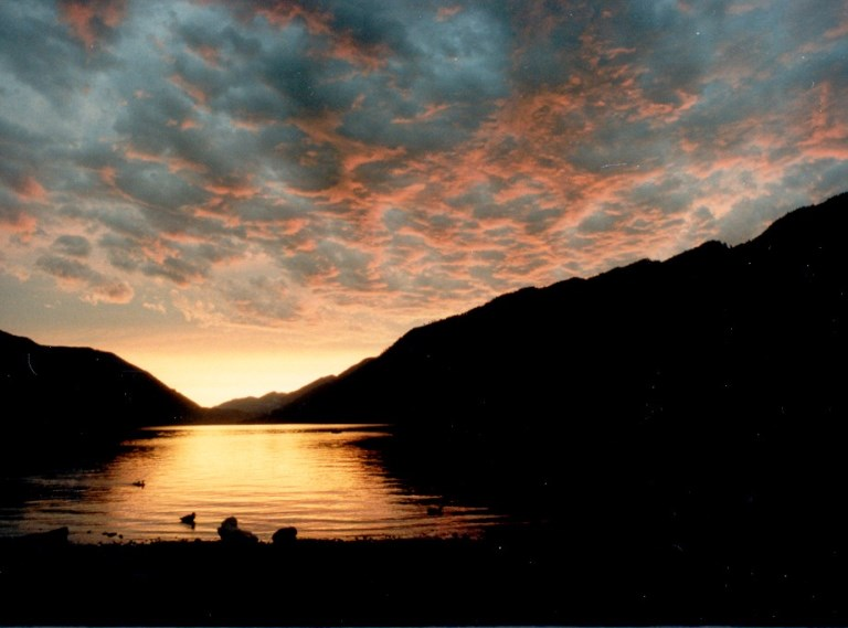 Lake Crescent Area: Lake Crescent sunset  - © Kevin Dooley flickr user