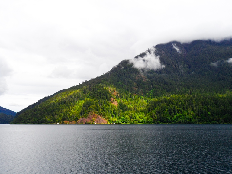 Lake Crescent Mountains  - © Selbe flickr user