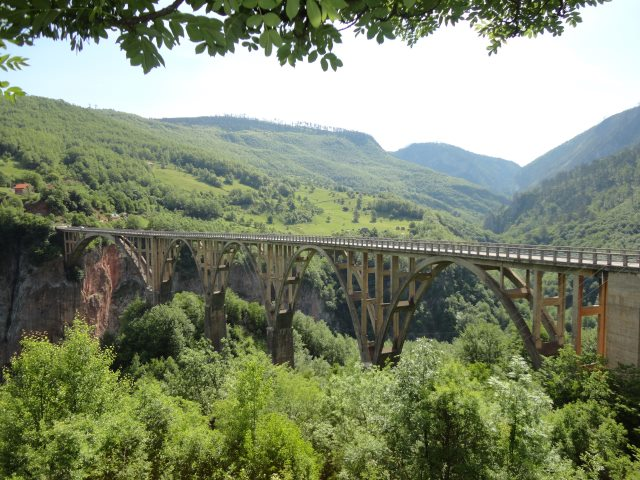 Bridge over the Tara, built in 1940, blown up by Yugoslav partisans during WW2  - © Kudu Travel