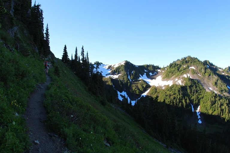 High Divide Trail, the reality begins!  - © daveynin flickr user