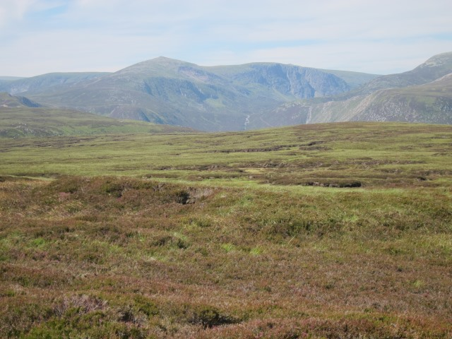 United Kingdom Scotland Cairngorms, Capel Mounth Track, The high moorland, Walkopedia