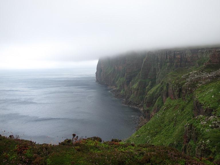 United Kingdom Scotland Orkney Islands, Orkney Islands, Hoy - St John's Head and cloudline, Walkopedia