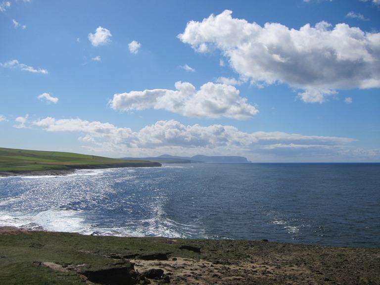 United Kingdom Scotland Orkney Islands, Orkney Islands, South over Mar Wick bay, Walkopedia