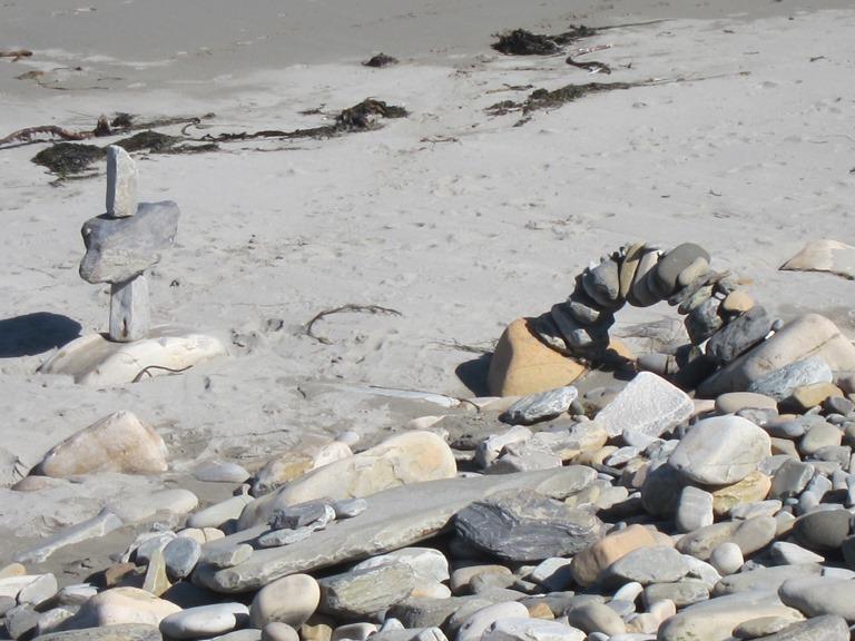 United Kingdom Scotland Orkney Islands, Orkney Islands, Beach sculpture, Scara Brae, Walkopedia