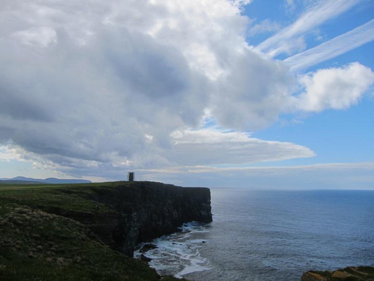 United Kingdom Scotland Orkney Islands, Orkney Islands, Marwick Head, south over Kitchener Memorial, Walkopedia