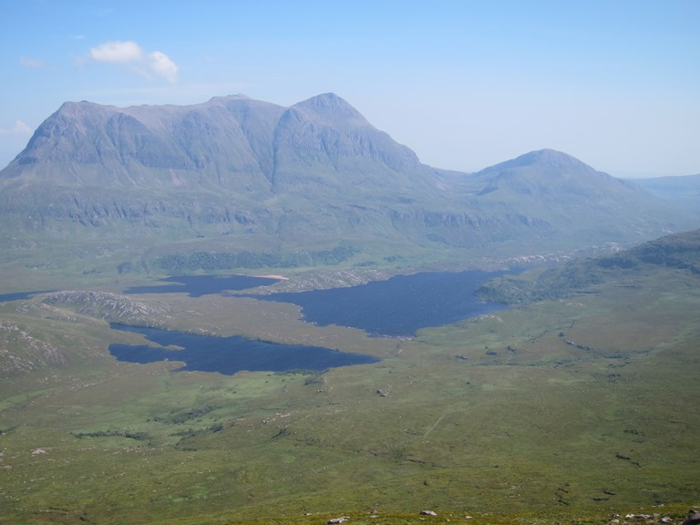 Assynt Peninsula: Cul Mor from Stac Pollaidh - © William Mackesy