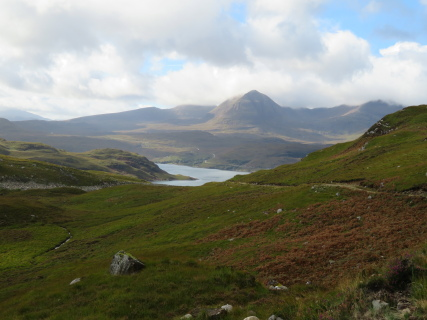 United Kingdom Scotland NW Highlands Assynt, Assynt Peninsula, Quinag from the north-east , Walkopedia