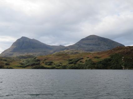 United Kingdom Scotland NW Highlands Assynt, Assynt Peninsula, Quinag from the north, Walkopedia