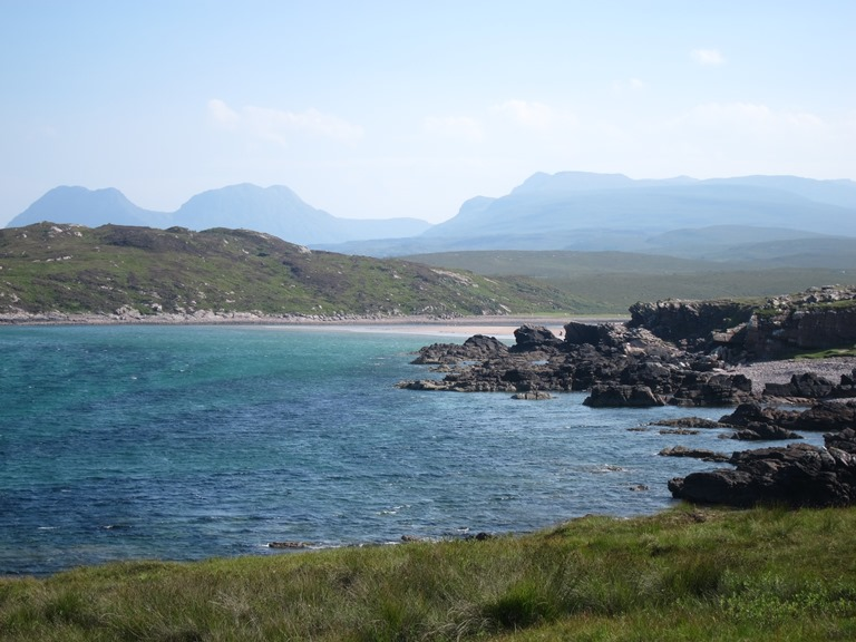 Assynt Peninsula: East from Achnahaird - © William Mackesy