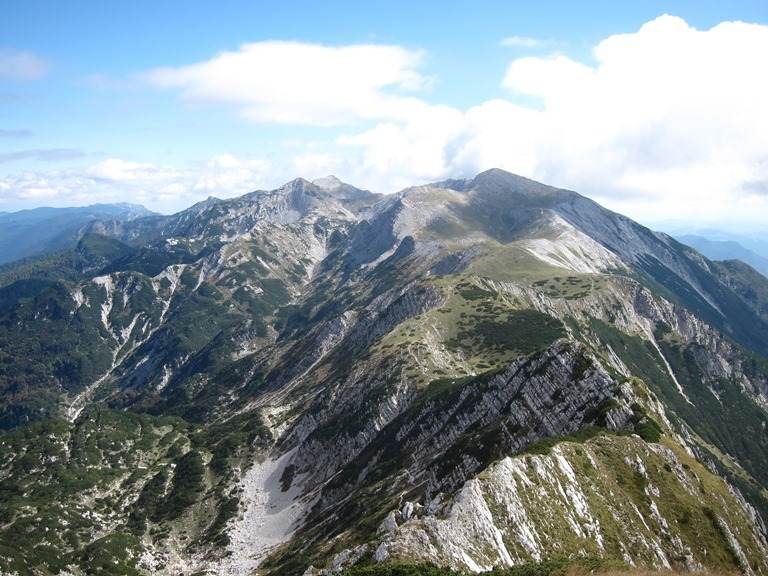 Grand Bohinj Horseshoe: Along Lower Bohij Ridge from Sija - © William Mackesy