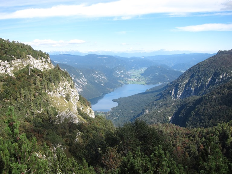 Grand Bohinj Horseshoe: Down onto Lake Bohinj - © William Mackesy
