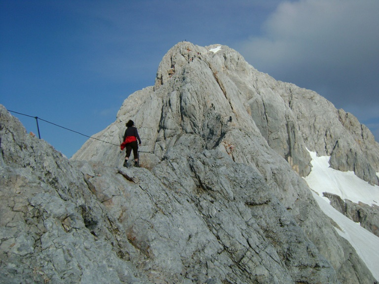 Top of Triglav - © Flickr user: Risbom