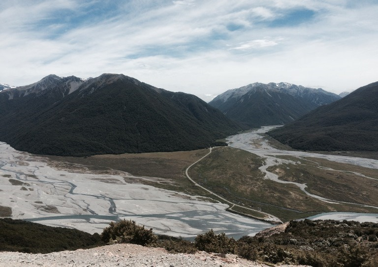Arthur's Pass Area: The river bed - © Anthony Fawcett