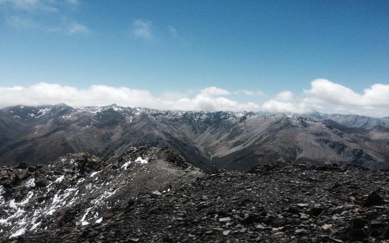 Avalanche Peak: Nearing the summit - © Anthony Fawcett