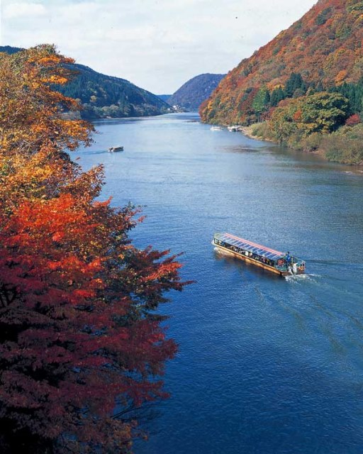 Cruise on the Mogami river - © Walk Japan