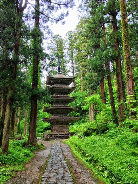 Haguro-san pagoda - © Walk Japan