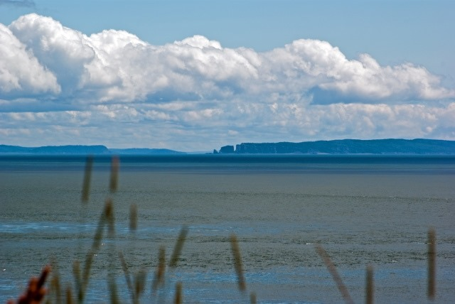 Cape Split Trail: cape split in the distance - ©  flickr user property#1