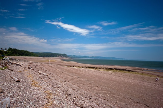 Cape Split Trail: Spencers Island beach  - © flickr user property#1