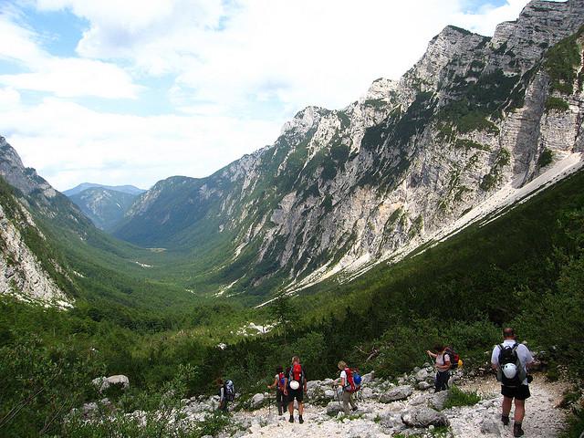 Slovenia, Slovene Mountain Trail, Triglav , Walkopedia