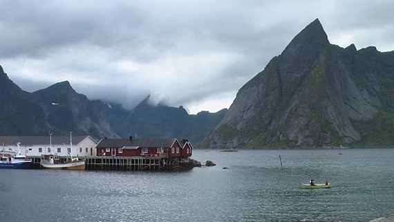 Lofoten Islands: © William Mackesy