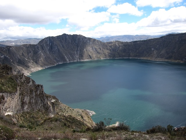 Ecuador Central Andes:Quilotoa Area, Lake Quilotoa Area, , Walkopedia
