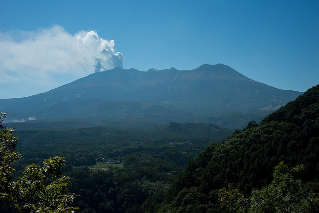 Mt.Ontake Eruption - © Flickr User - peaceful-jp-scenery...
