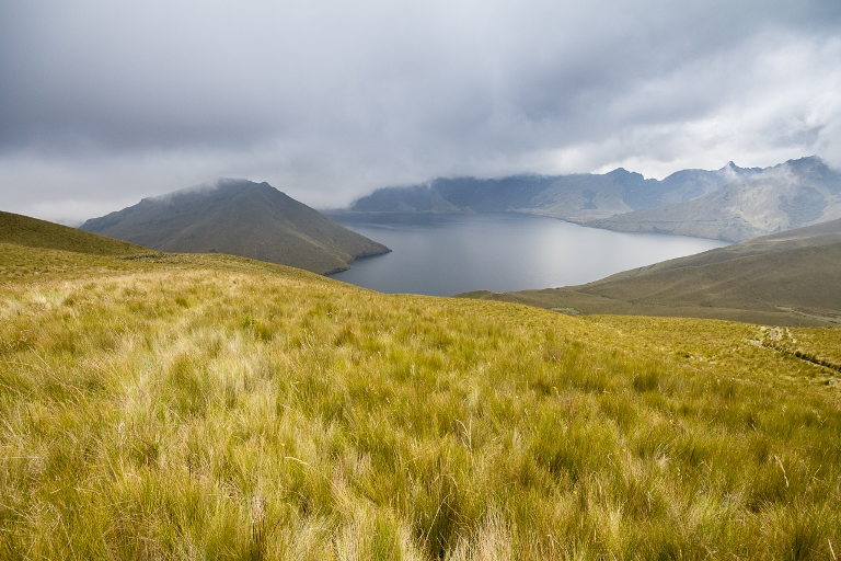 Otavalo Area: View to the Laguna de Mojanda  - © Flickr user- Jean-Francois Renaud