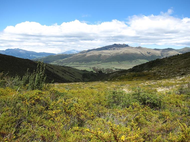 Cerro Ruminahui: Pasochoa from Ruminahui flank - © William Mackesy